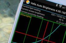 Régler automatiquement la luminosité d'un mobile Android