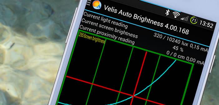 Ajuster automatiquement la luminosité de votre mobile Android