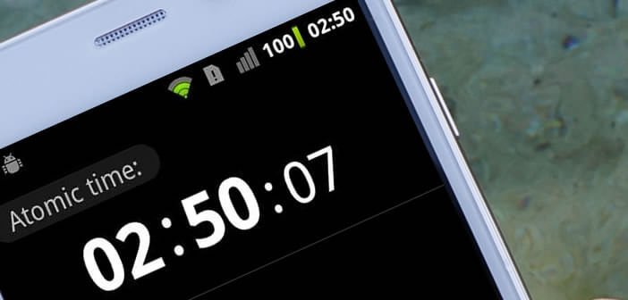 Synchroniser l'horloge système d'Android avec l'horloge atomique