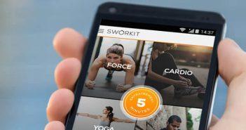 Sélection d'application de musculation et de fitness pour Android