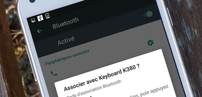 Associer un clavier Bluetooth avec un terminal Android