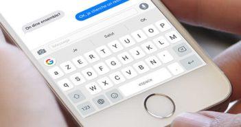 Configurer et installer le clavier Gboard sur un iPhone