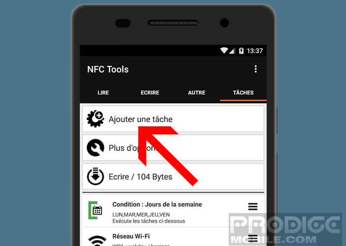 Automatiser des actions répétitives sur un mobile Android
