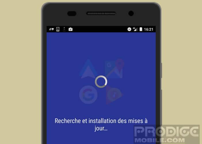 Les applications nécessitent d'être mise à jour pour fonctionner avec Android Auto