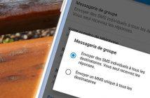 SMS groupé: empêcher les participants d'accéder aux réponses
