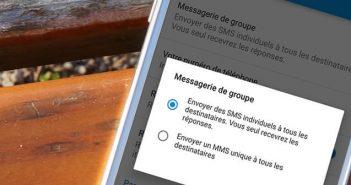 Empêcher les participants de recevoir les réponses d'un SMS collectif