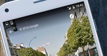 Se repérer en ville grâce à Street View pour Android