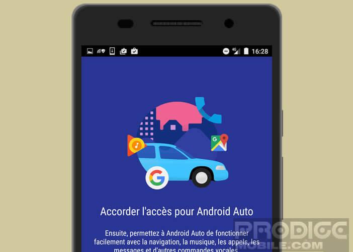 Système multimédia dédié aux véhicules téléchargeable gratuitement depuis le Play Store