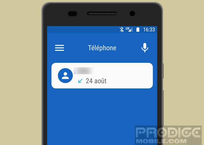 Téléphoner depuis votre voiture via l'application Android Auto