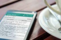 Comment afficher le code html d'un site sur un mobile Android