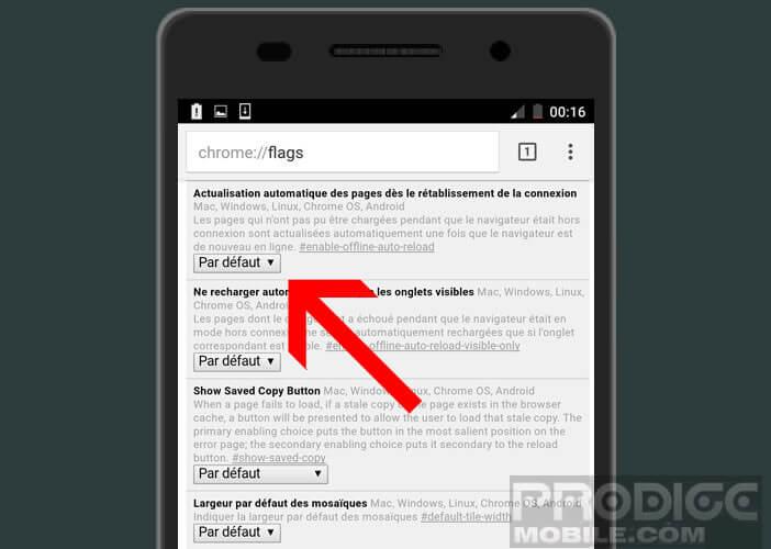 Empêcher actualisation automatique des pages des sites internet