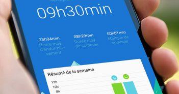 Application sommeil pour smartphone Android pour lutter contre l'insomnie