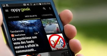 Appy Geek application de curation de news sur les nouvelles technologies