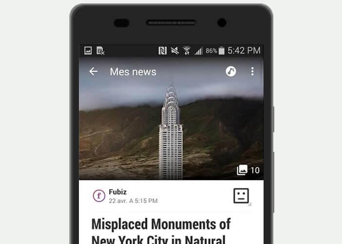 Appy Geek affiche l'intégralité des articles et des news
