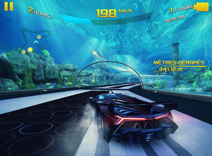 Jeu de course automobile Asphalt 8
