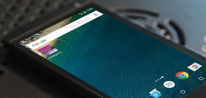 Mettre en route pour la première fois un nouveau smartphone Android