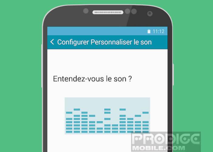 Configurer le son de votre mobile Samsung