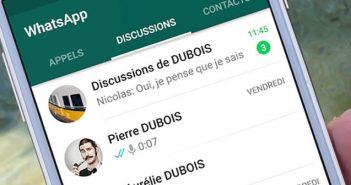 Empêcher l'envoi d'une confirmation de lecture sur WhatsApp