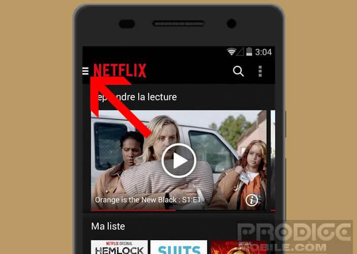 Vérifier si votre contenu est disponible en téléchargement sur Netflix