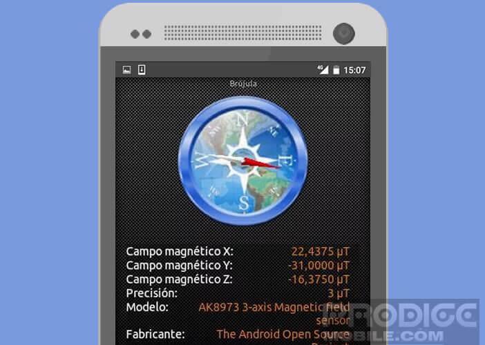 Calibrer la boussole de votre mobile Android