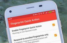 Mettre en veille un mobile Android avec le lecteur d'empreintes
