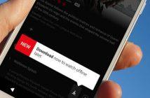 Regarder des films sur l'appli Netflix hors connexion