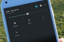 Créer des notes depuis le volet de notifications d'Android