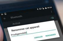 Comment changer le nom de son smartphone Android