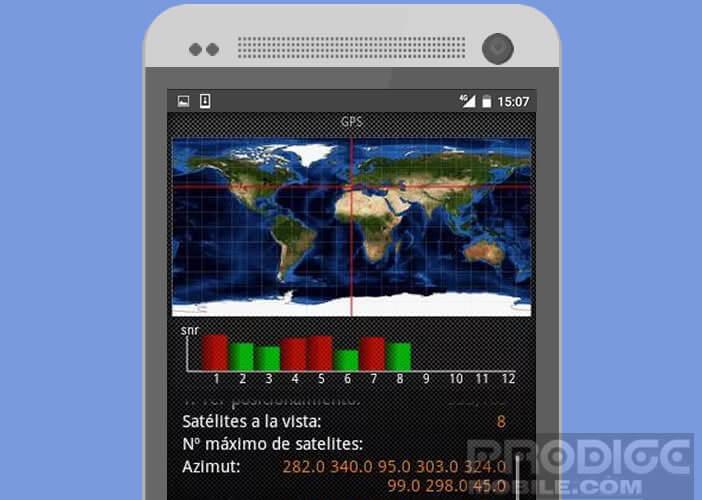 Tester le bon fonctionnement de la puce GPS d'un mobile