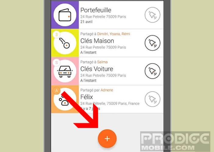 Ajouter un nouveau Wistiki et lancer l'appairage avec votre smartphone