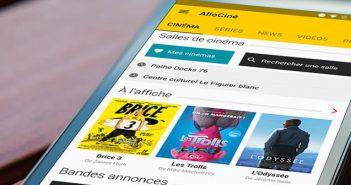 Application cinéma pour les smartphones Android