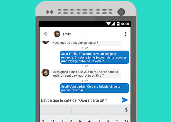 application rencontre android quebec Rezé