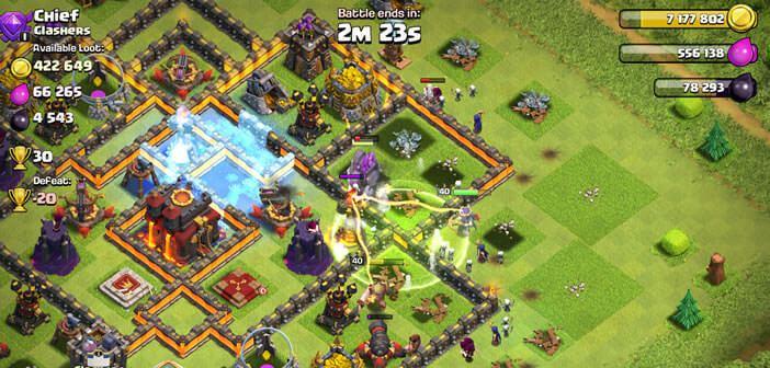Récupérer votre village et votre progression dans Clash of Clans