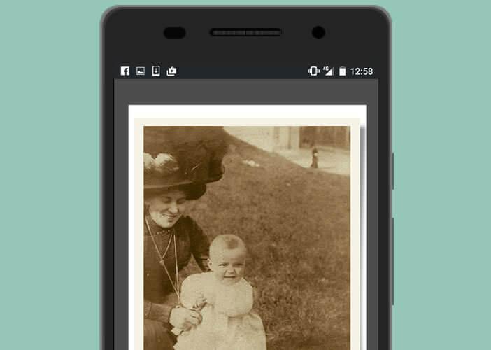 Scanner des photos papiers directement avec un mobile Android