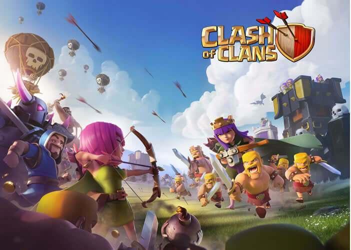 Clash of clans: jeux de stratégie pour mobile