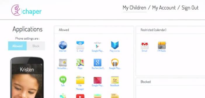 Application Android pour surveiller le smartphone de vos enfants