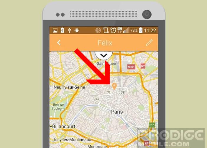 Visualiser la position de vos clés sur une carte Google Maps