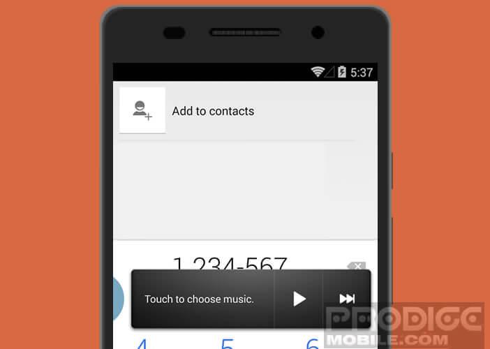 Contrôler votre musique via un widget tout en laissant votre navigateur ouvert