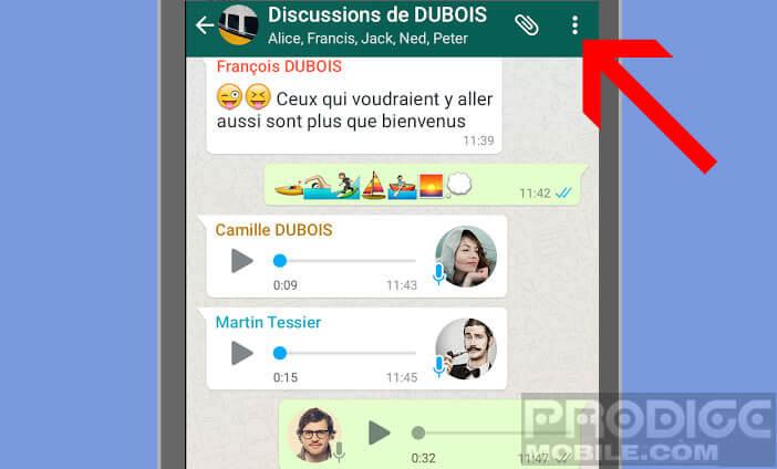 Filtrer les appels et les messages indésirables sur WhatsApp