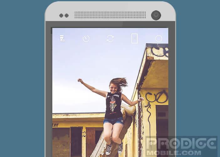 Ajouter un filtre rétro à vos clichés pris avec votre smartphone Android