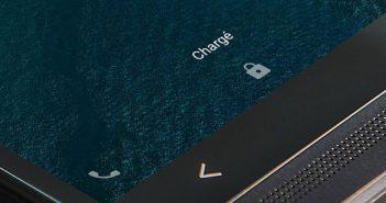 Raccourci téléphone sur l'écran de verrouillage d'Android