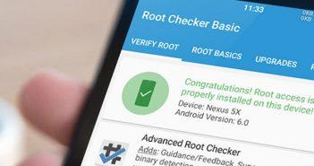Root checker permet de savoir si le processus de root s'est déroulé correctement