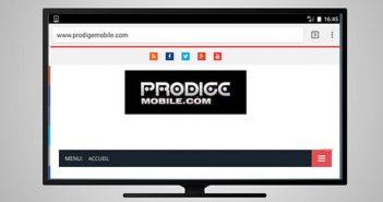 Utiliser la fonction de screen mirroring de votre Chromecast