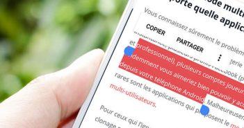 Outil incontournable pour faciliter la sélection de texte sur Android