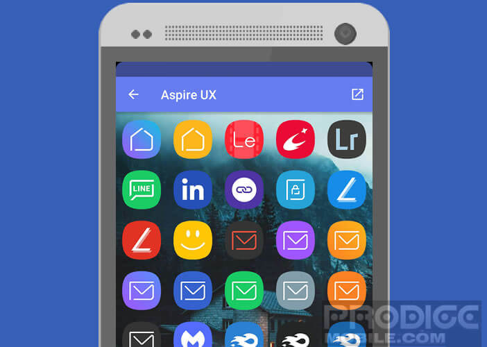 Changer l'apparence de la home screen d'Android