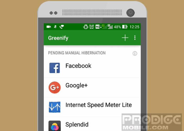 Geler les applications qui réduisent l'autonomie de votre smartphone