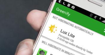 Améliorer autonomie du mobile Android avec Greenify