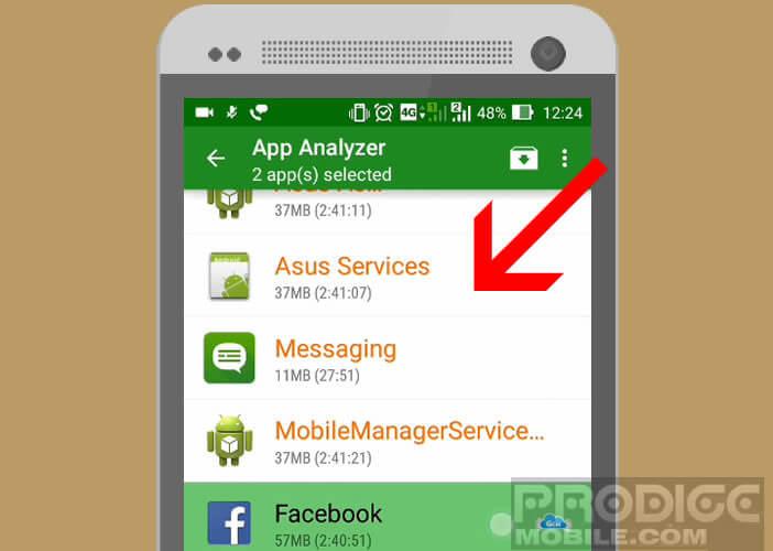 Mettre les applis en hibernation sur les appareils Android non rootés