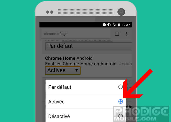 Modifier l'apparence de l'interface de Google Chrome