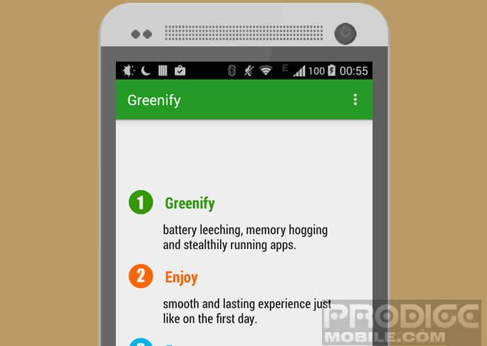 Mettre les applications en mode hibernation pour les empêcher de puiser dans la batterie